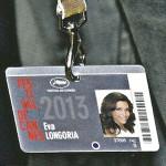 Accréditation officielle d'Eva Longoria pour le Festival 2013