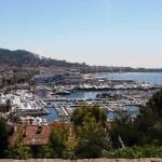 La rade de Cannes et la Croisette, probablement une des plus belles vues au Monde