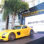 Mercedes SLS AMG devant l'Hotel Carlton Cannes 2013