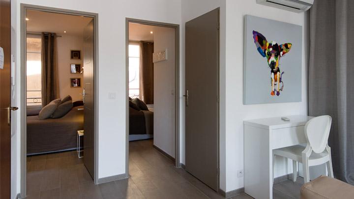 Décoration de l'appartement en location 11 place Gambetta