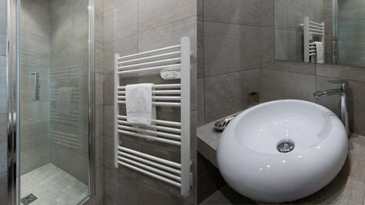 Salle de douche location Cannes