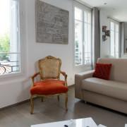 Vue depuis le salon appartement Cannes